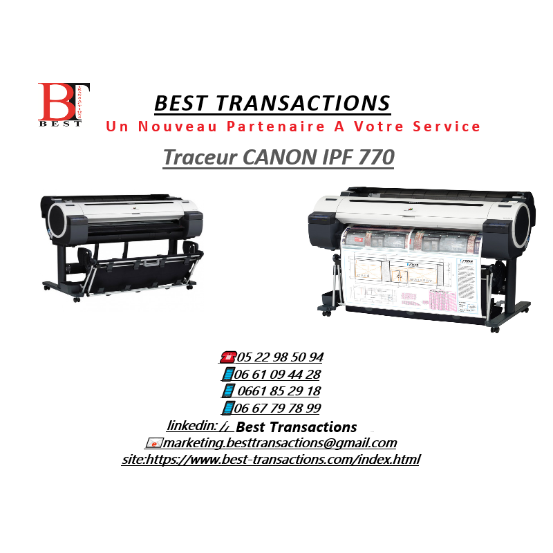 Traceurs CANON IPF 770
