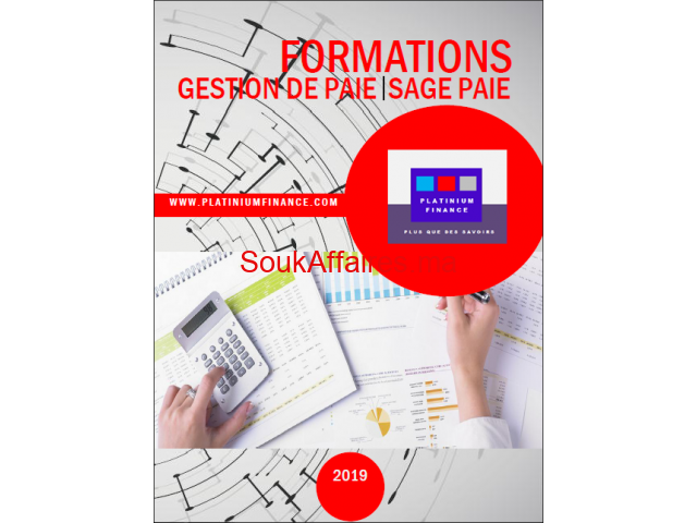 FORMATIONS CADRES-2019-/GESTION DE PAIE & SAGE PAIE/ Full & Part Time- Kénitra
