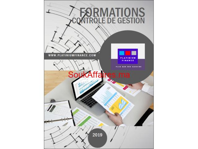 FORMATIONS CADRES-2019-/CONTRÔLE DE GESTION/ Full & Part Time-Kénitra