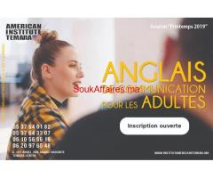 Formation Anglais De Communcation Pour es Adultes