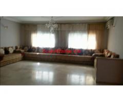 bel appart meuble 144m2 a fes