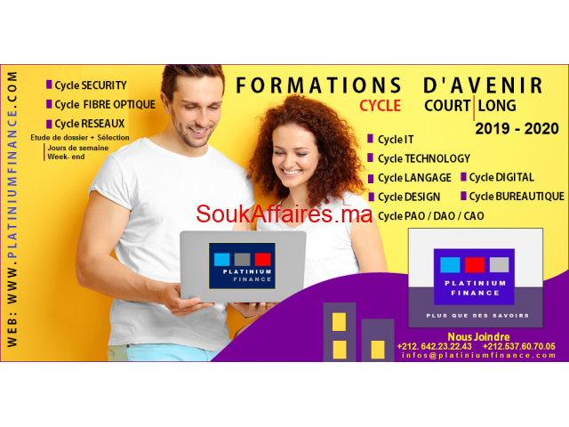 FORMATIONS 2019-2020 – IT- TECHNOLOGY - SECURITY