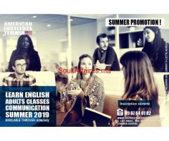 Remise à niveau en Anglais à l'Institut Americain Temara
