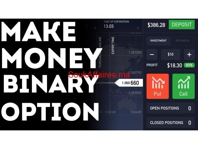 commerce facile pour gagner de l'argent