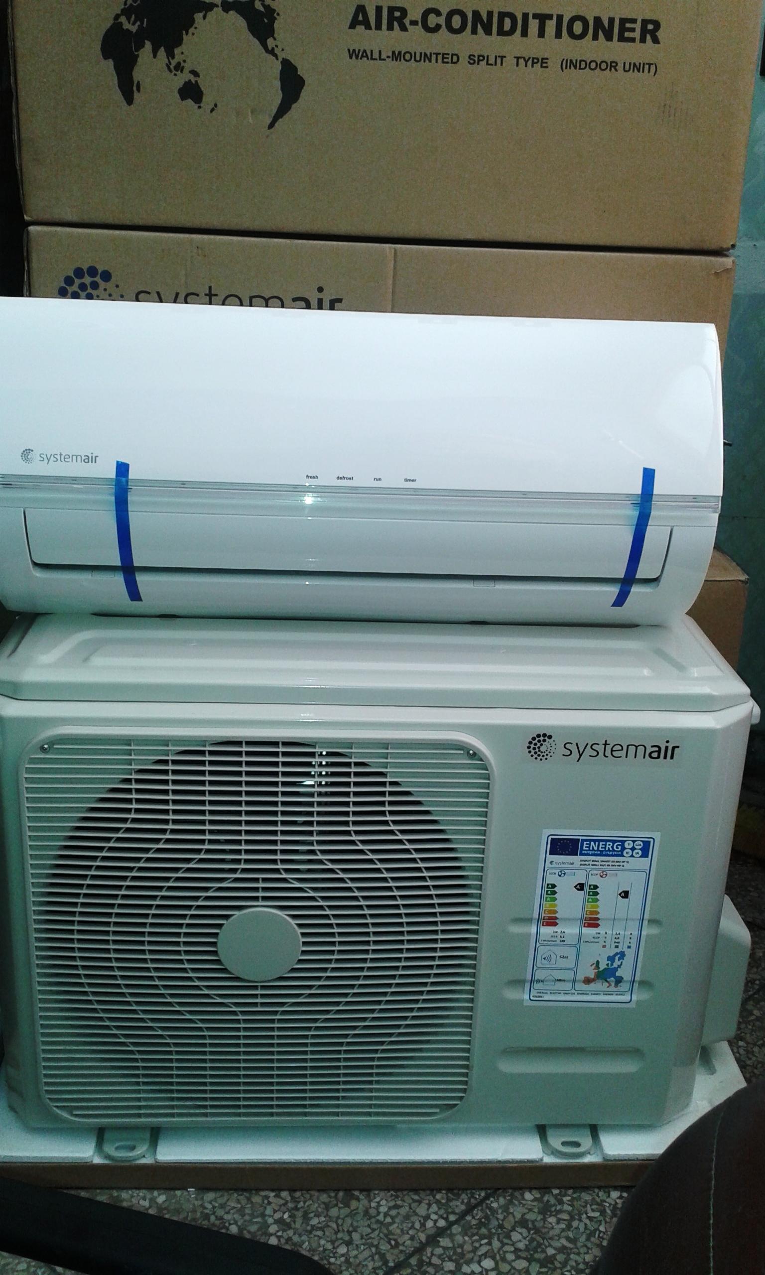 Climatiseur Systemair inverter ( économique )