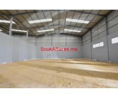 Batiment industriel 3000 m² sur un terrain de 2 Ha, Berrechid