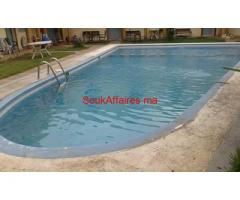 App. meublé avec piscine à la plage sidi bouzid el jadida