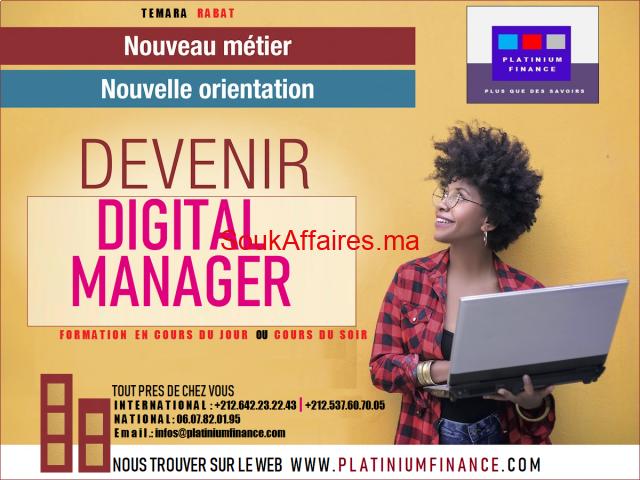 Formation Cadre - Digital Manager