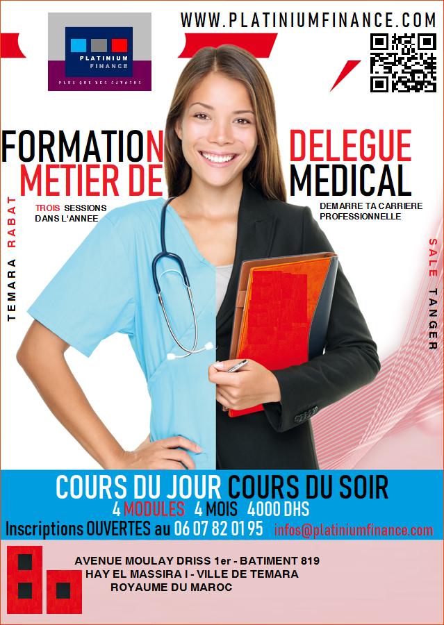FORMATION AU METIER DE DELEGUE MEDICAL