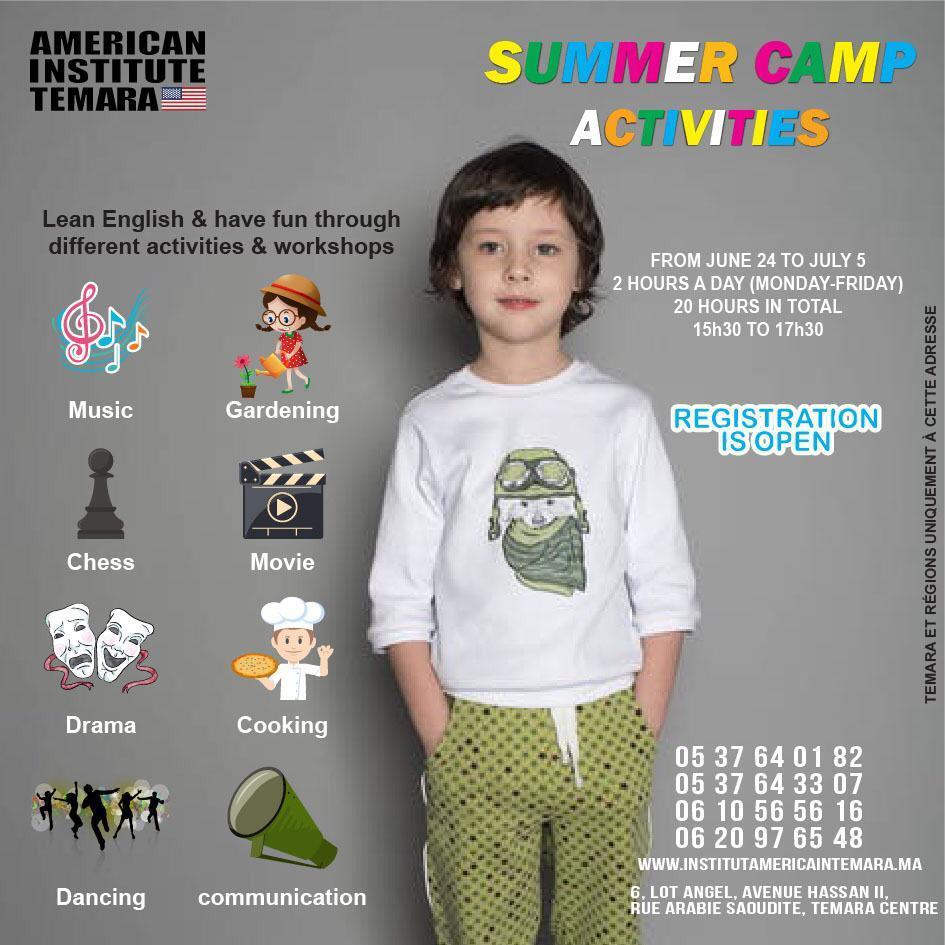 SUMMER CAMP ACTIVITIES FOR KIDS