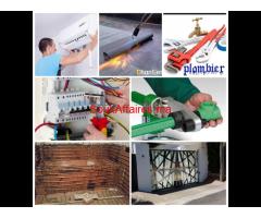 Travaux aménagement et décoration intérieur et extérieur