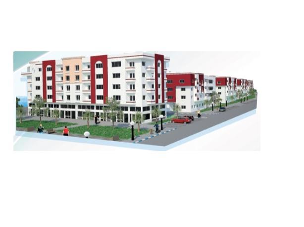 appartement moyen standing 83M à bouzki