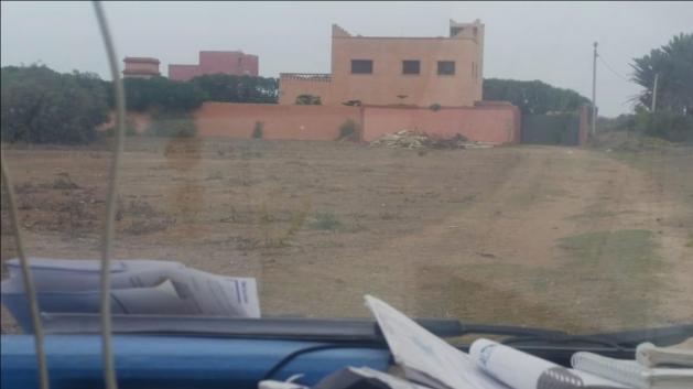 terrain pour villa de 1000 M2 à Sidi Rahhal