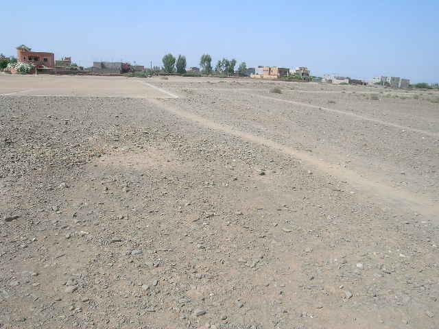 Terrain de 6 ha bord de route de l'Ourika à vendre