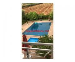 Ferme avec villa et piscine isolé