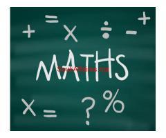 Prof de maths à domicile