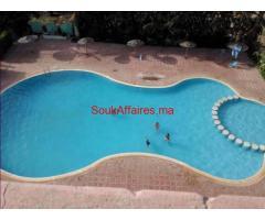 vente magnifique appartement dans une résidence  fermée ac piscine