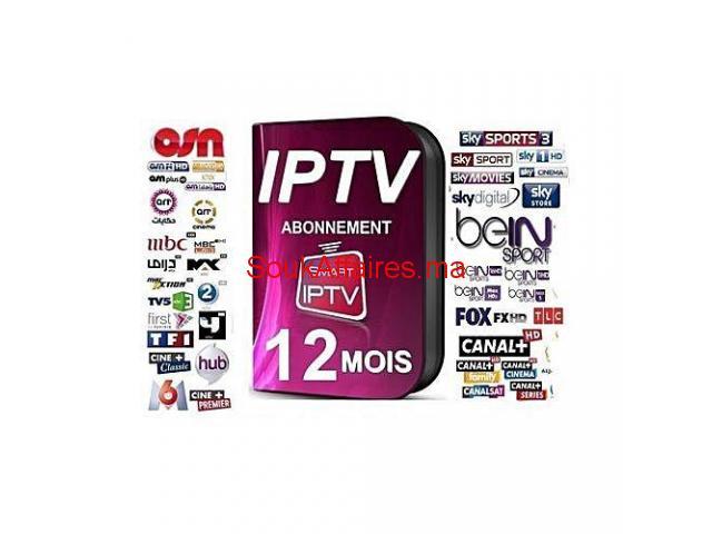 ABONNEMENT IPTV 12MOIS