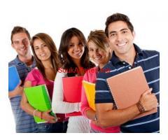 دروس  الدعم  في المنزل في جميع المواد الدراسية للمرحلة الثانوية