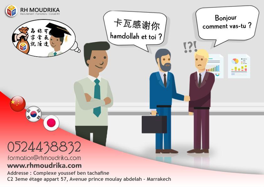 cours de langue chinoise
