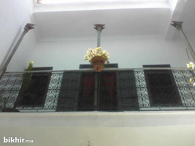 typique riad vide à marrakech médina
