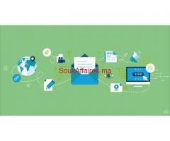 فرصة عمل في مجال التسويق الالكتروني العالمي