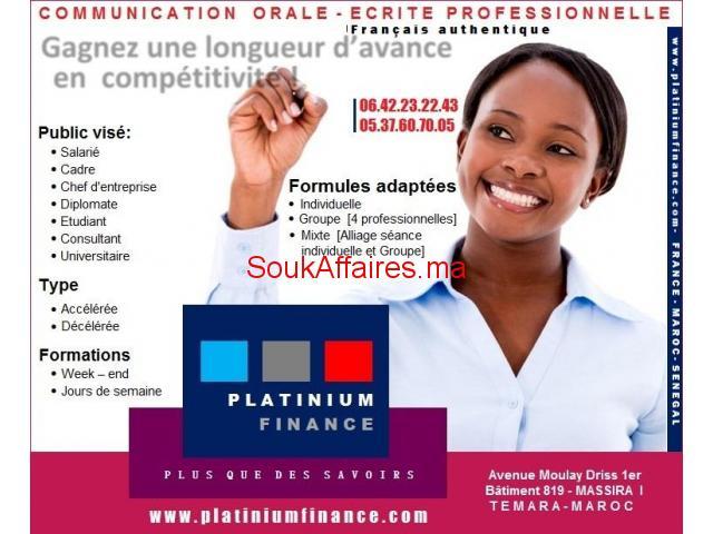 FRANÇAIS – COMMUNICATION ORALE –ECRITE PROFESSIONNELLE