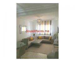appartement joliment meublé