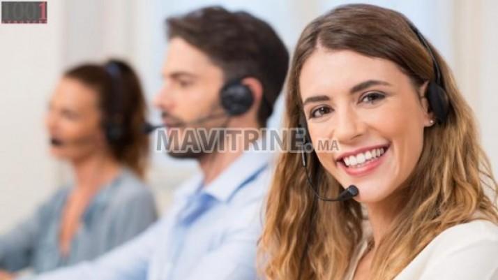 Centre d'appel pour homme/femme