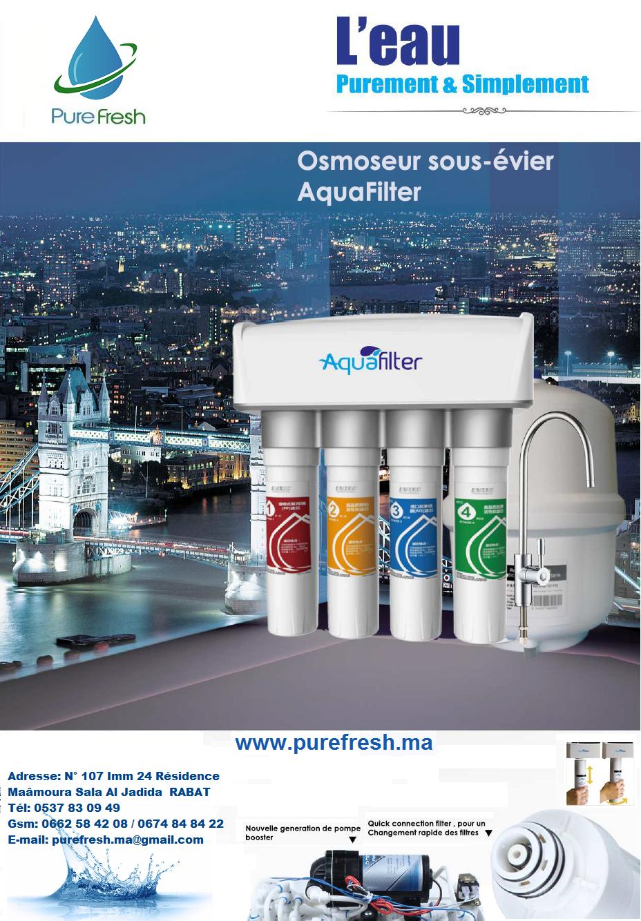 osmoseur sous évier dernier géneration