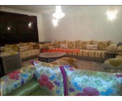 etage villa meuble a fes 210m2