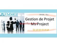 Formation Gestion de projet & Ms Project